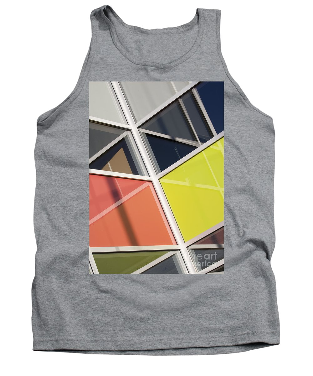 Glass Tank Top featuring the photograph Mirrors II by Chris Dutton