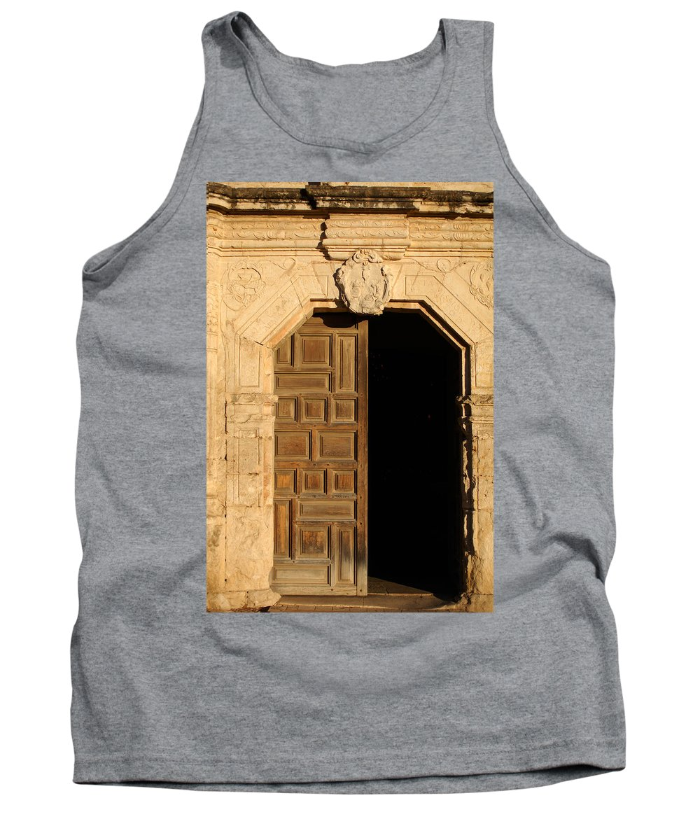 Urban Tank Top featuring the photograph Mission Entry by Jill Reger