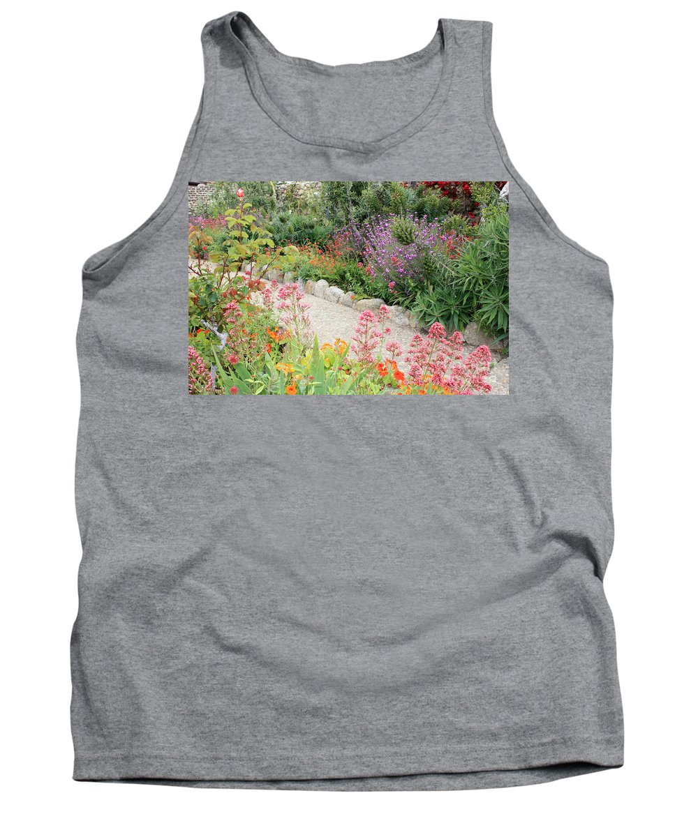 Garden Tank Top featuring the photograph Mission Garden by Carol Groenen