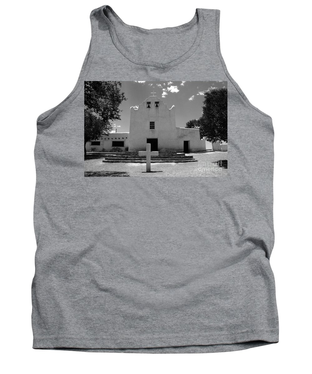Mission San Jose Tank Top featuring the photograph Mission San Jose by David Lee Thompson