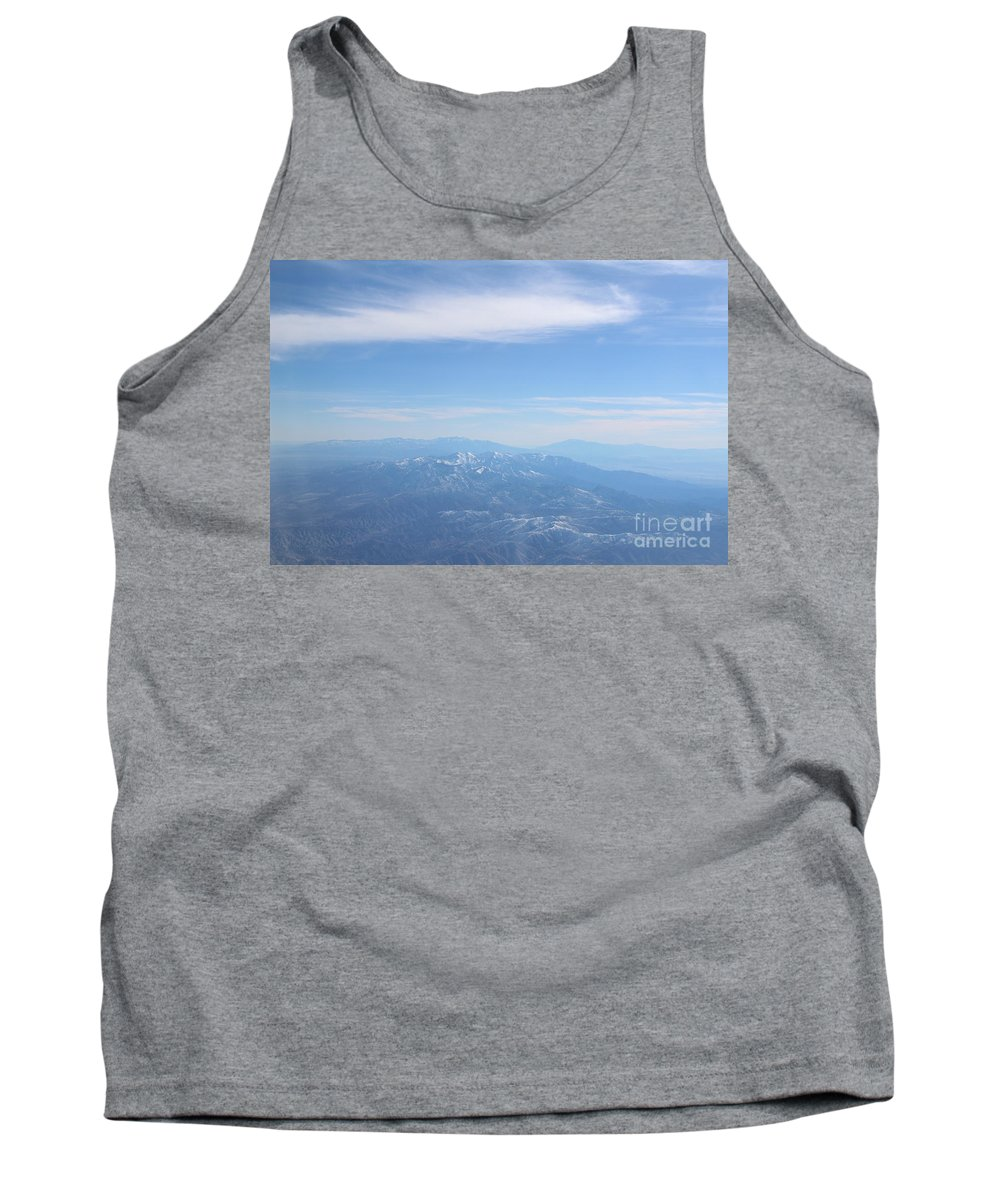 Mountains Tank Top featuring the photograph Misty Mountains by Tracy