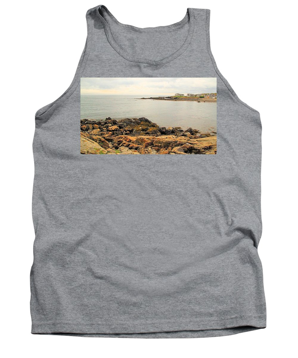 Seascape Tank Top featuring the photograph Moody View 2 by Robert McCulloch