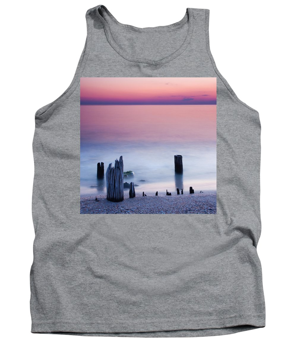 Sea Tank Top featuring the photograph Morning Calm by Evgeni Dinev
