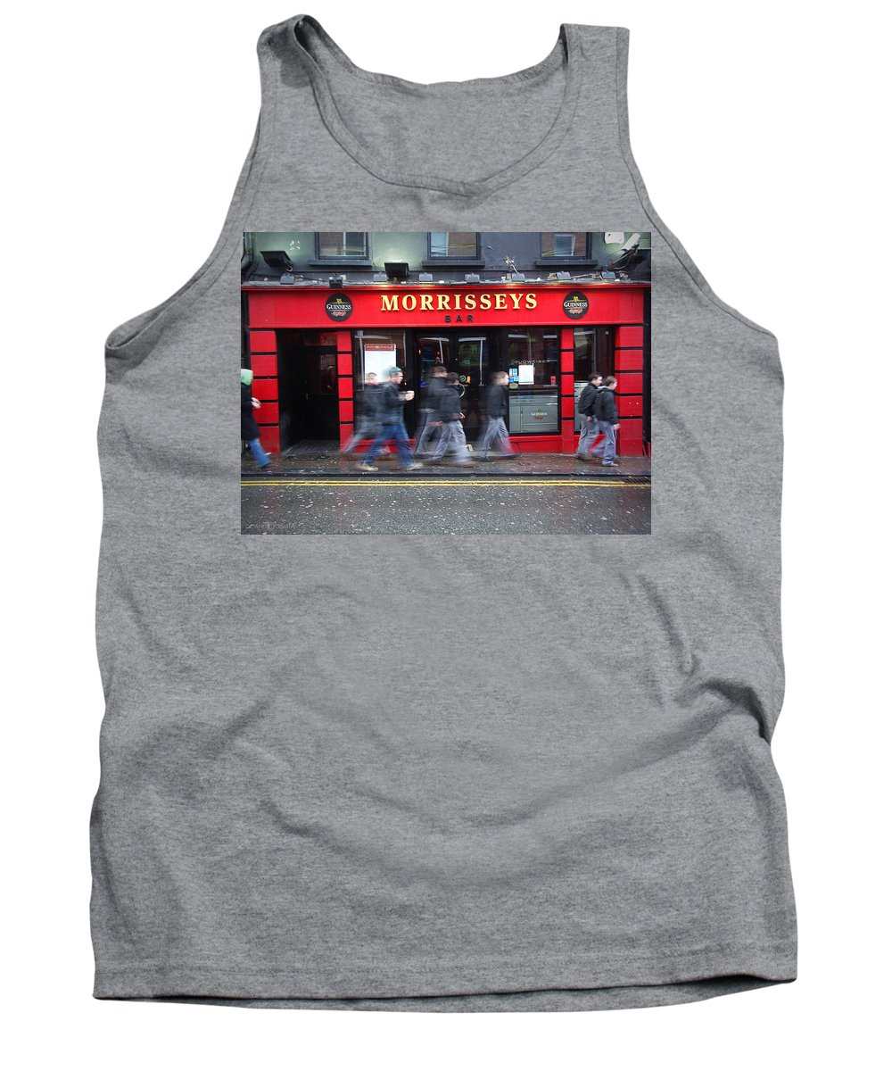 Pub Tank Top featuring the photograph Morrissey by Tim Nyberg