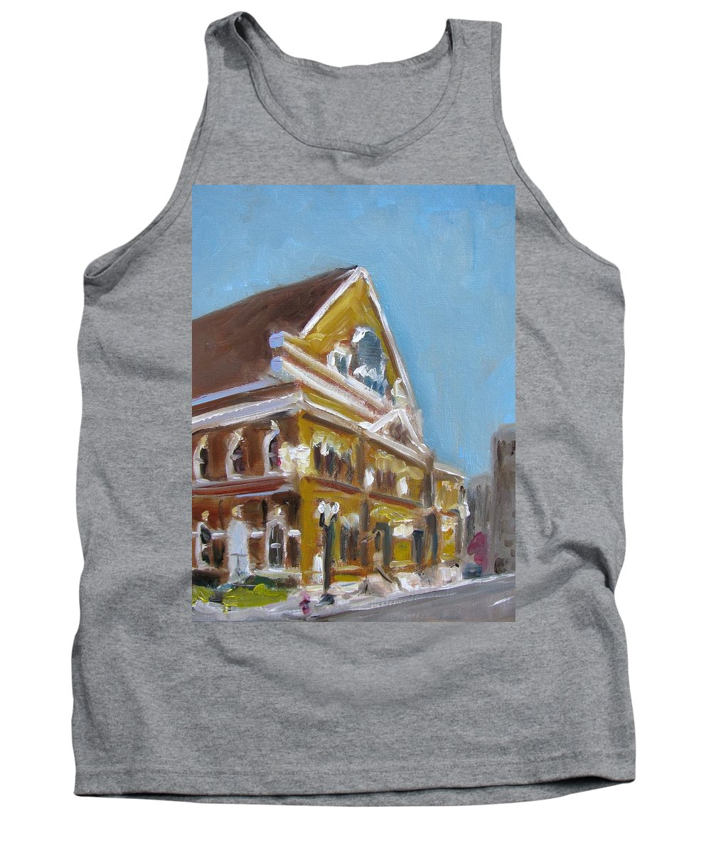 Ryman Tank Top featuring the painting Mother Church by Susan Elizabeth Jones