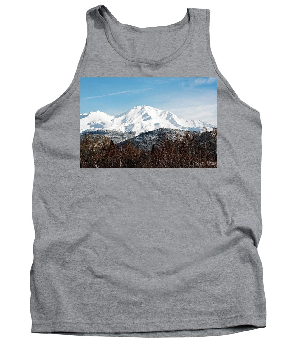 Mount Shasta Tank Top featuring the photograph Mount Shasta by Anthony Jones