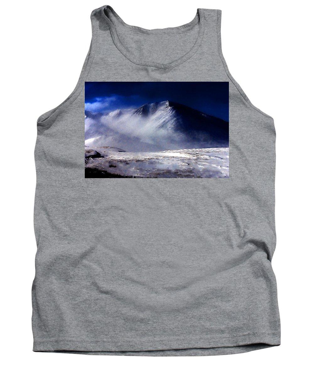 Mountain Tank Top featuring the photograph Mountain Of Alaska by Galeria Trompiz