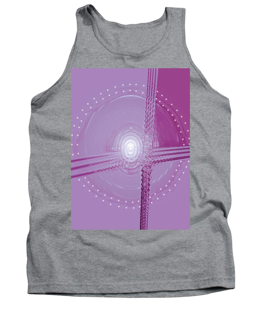Moveonart! Digital Gallery Tank Top featuring the digital art Moveonart Shift In Time 5 by Jacob Kanduch