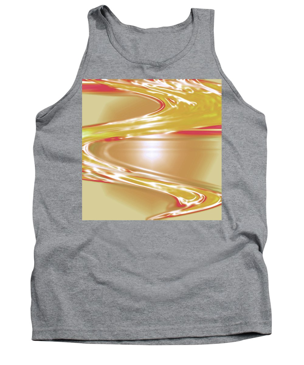 Moveonart! Digital Gallery Tank Top featuring the digital art Moveonart Wave Of The Annointing by Jacob Kanduch