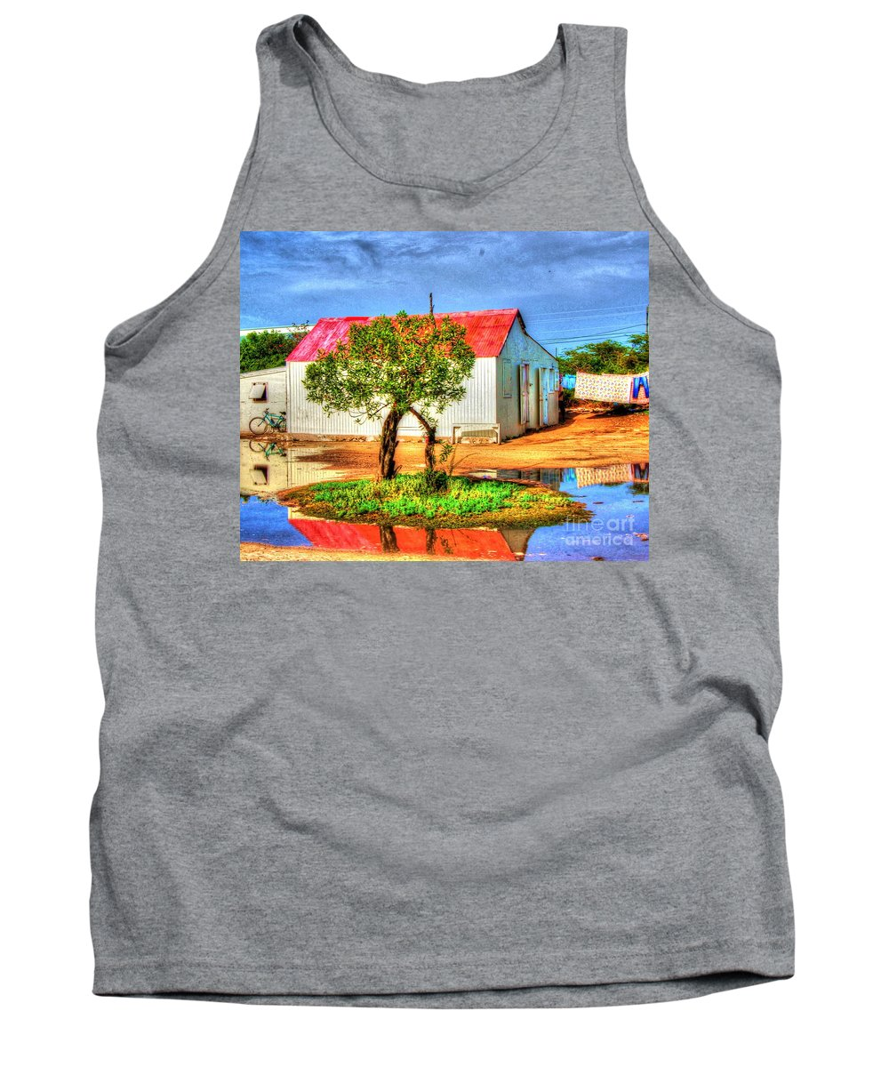 House Tank Top featuring the photograph Muddy Waters by Debbi Granruth