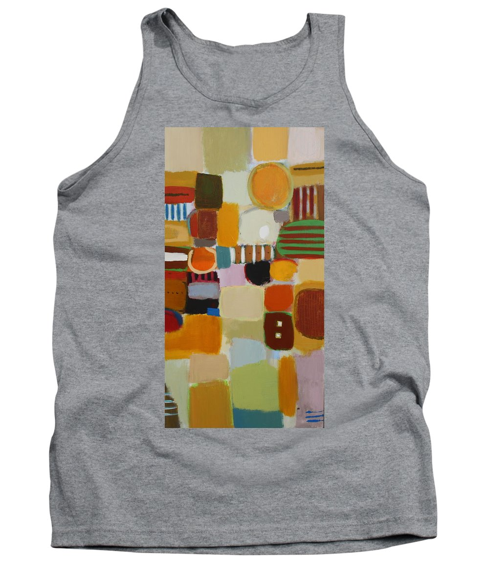 Tank Top featuring the painting My Ways by Habib Ayat