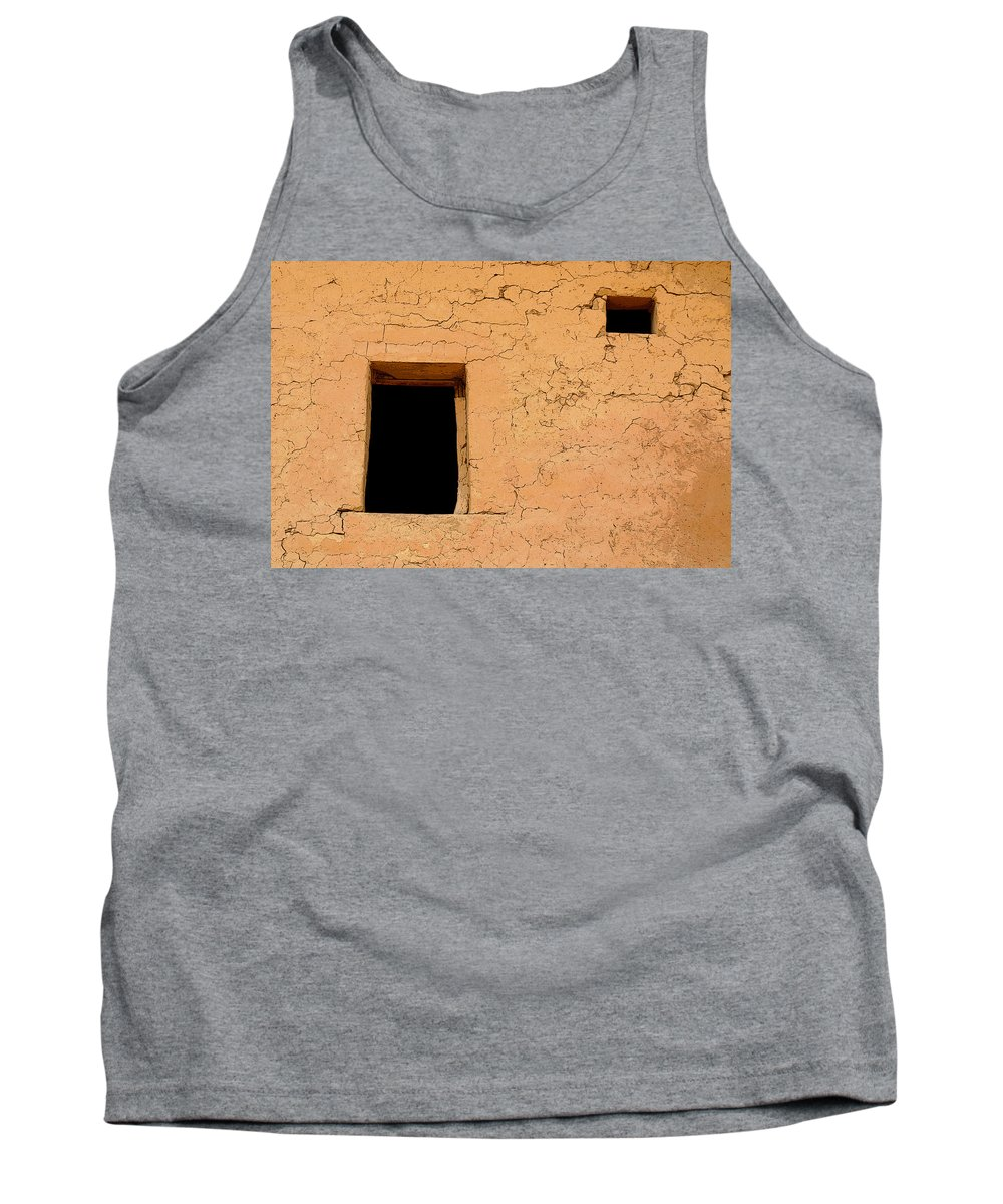 Adobe Tank Top featuring the photograph Mysterious Places by Joe Kozlowski