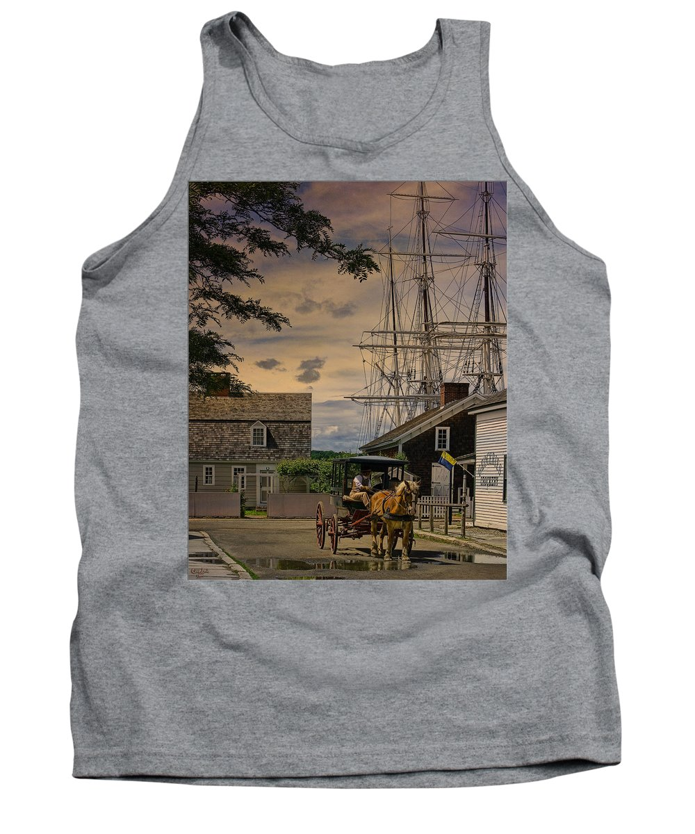 Mystic Tank Top featuring the photograph Mystic Evening by Chris Lord