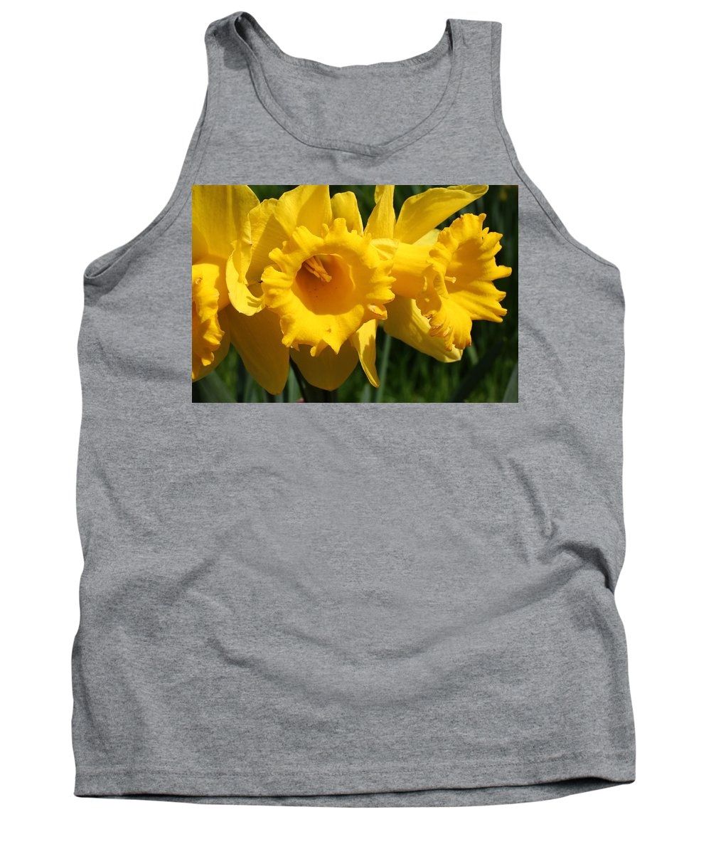 Daffodil Tank Top featuring the photograph Narcissus by Heike Hultsch