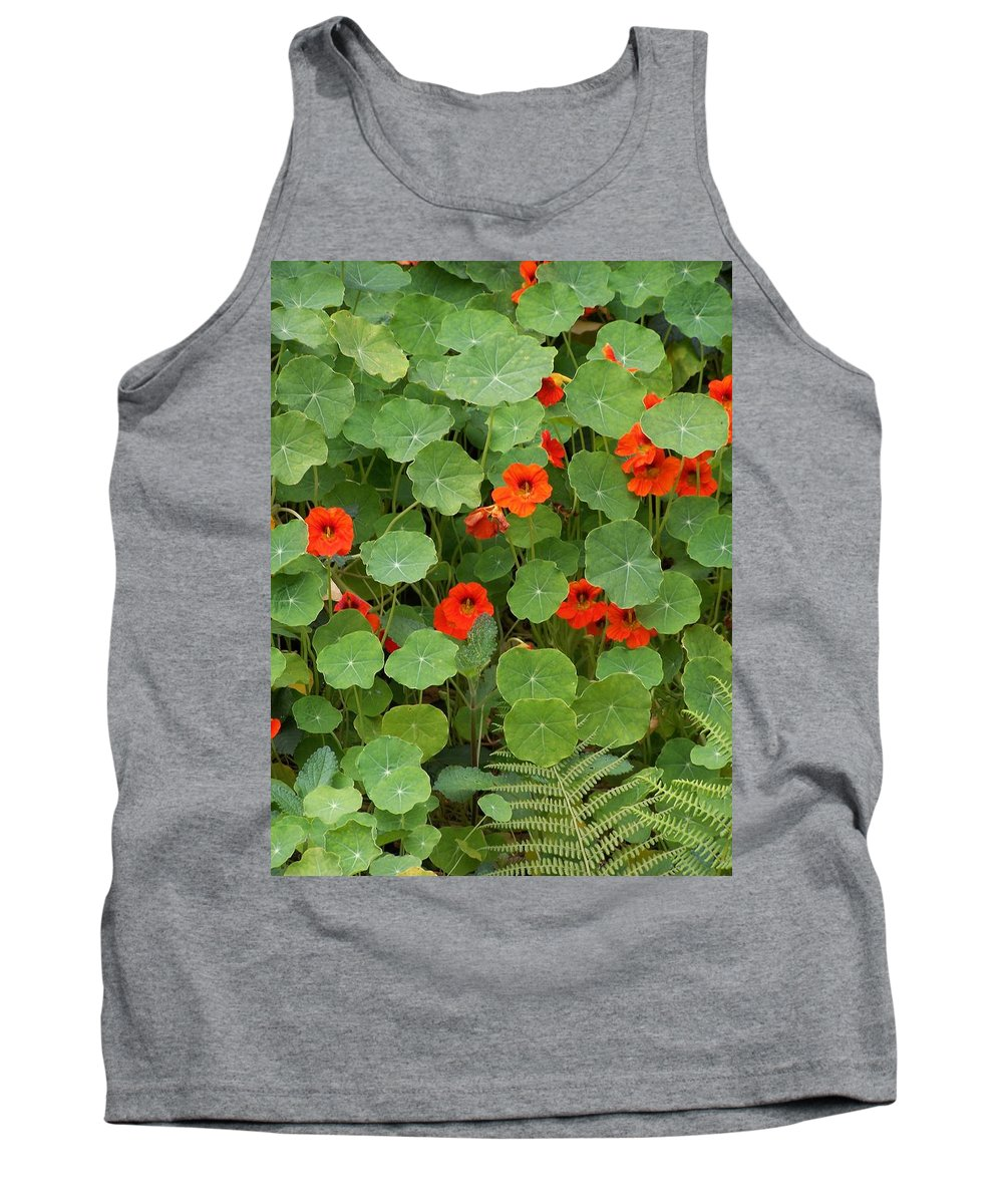 Nasturtiums Tank Top featuring the photograph Nasturtiums by Gale Cochran-Smith