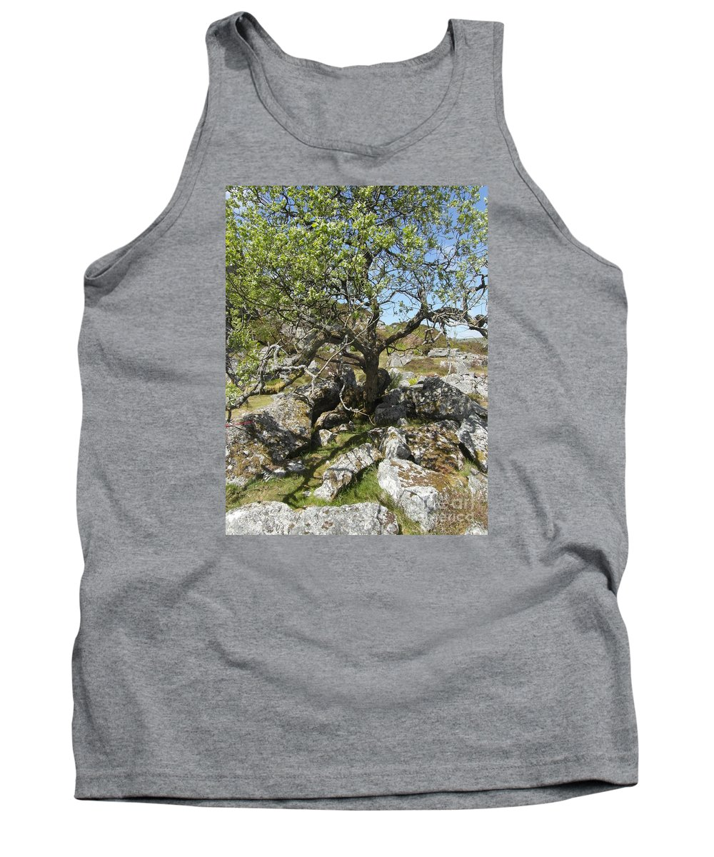 Tree Tank Top featuring the photograph Near Haytor, Dartmoor by Quintin Rayer
