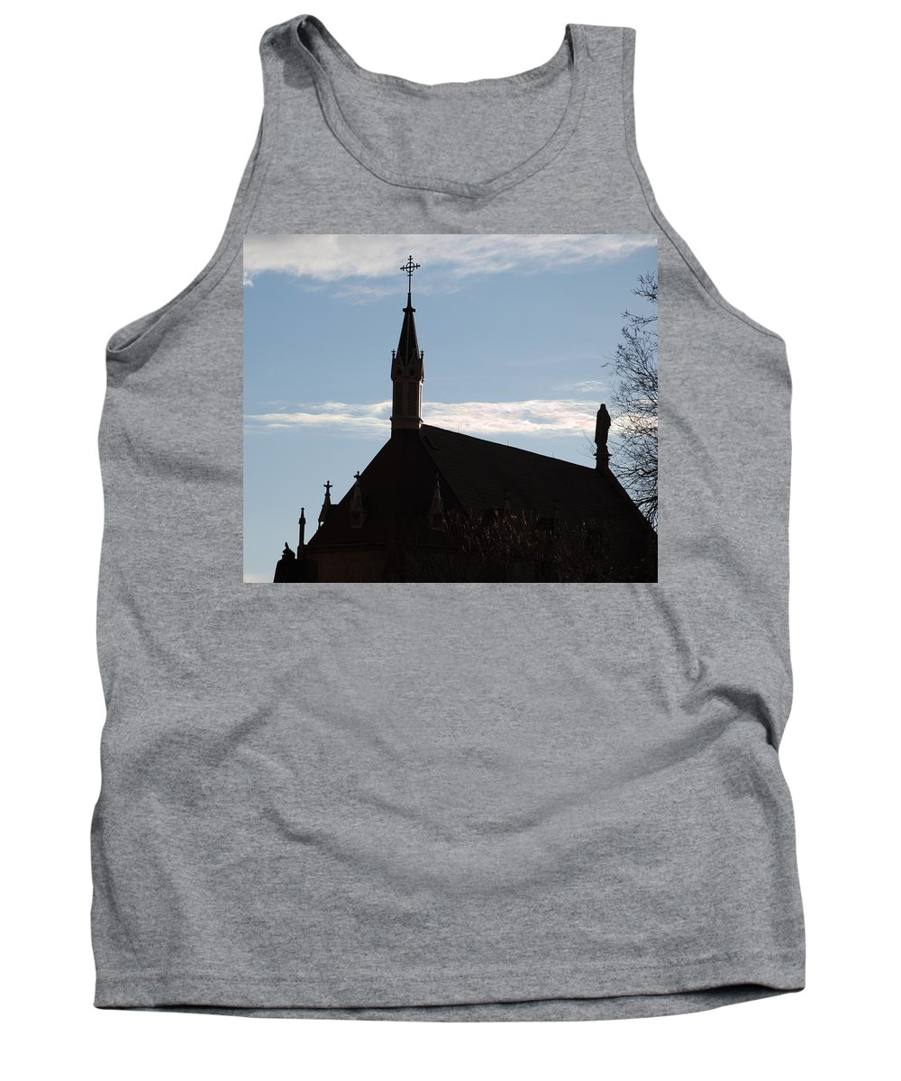 Church Tank Top featuring the photograph New Mexican Church by Rob Hans