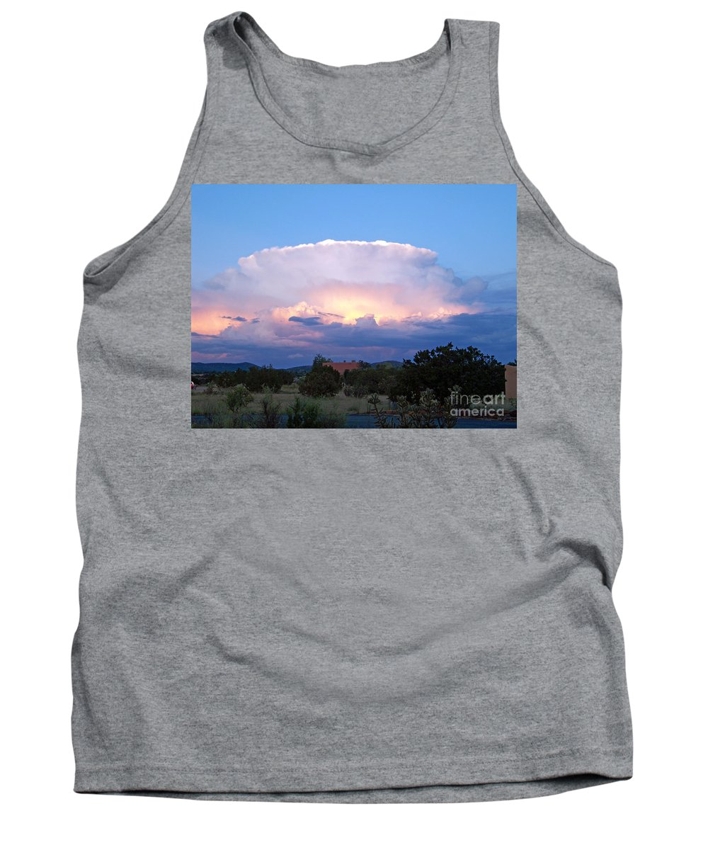 Sky Tank Top featuring the photograph New Mexico - The Bomb by Brian Commerford