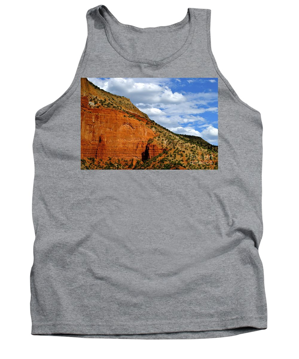 New Mexico Tank Top featuring the photograph New Mexico by Wendy Girard