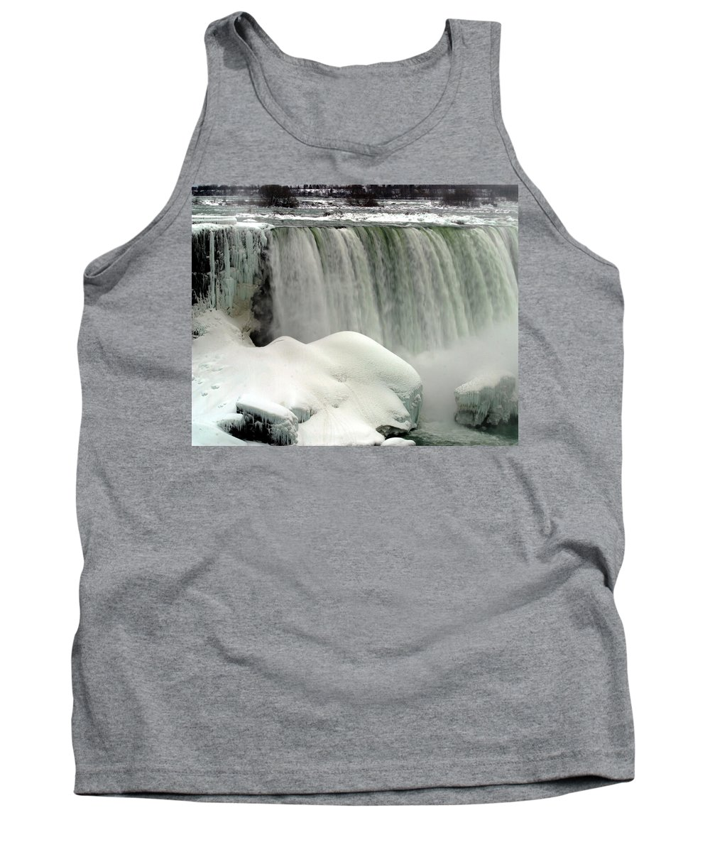 Landscape Tank Top featuring the photograph Niagara Falls 3 by Anthony Jones