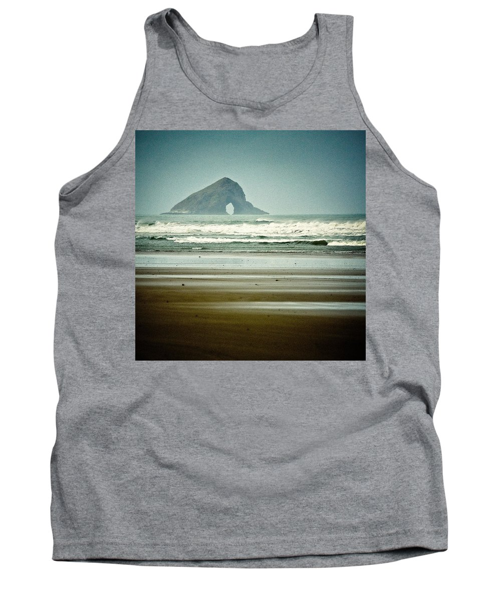 Seascape Tank Top featuring the photograph Ninety Mile Beach by Dave Bowman