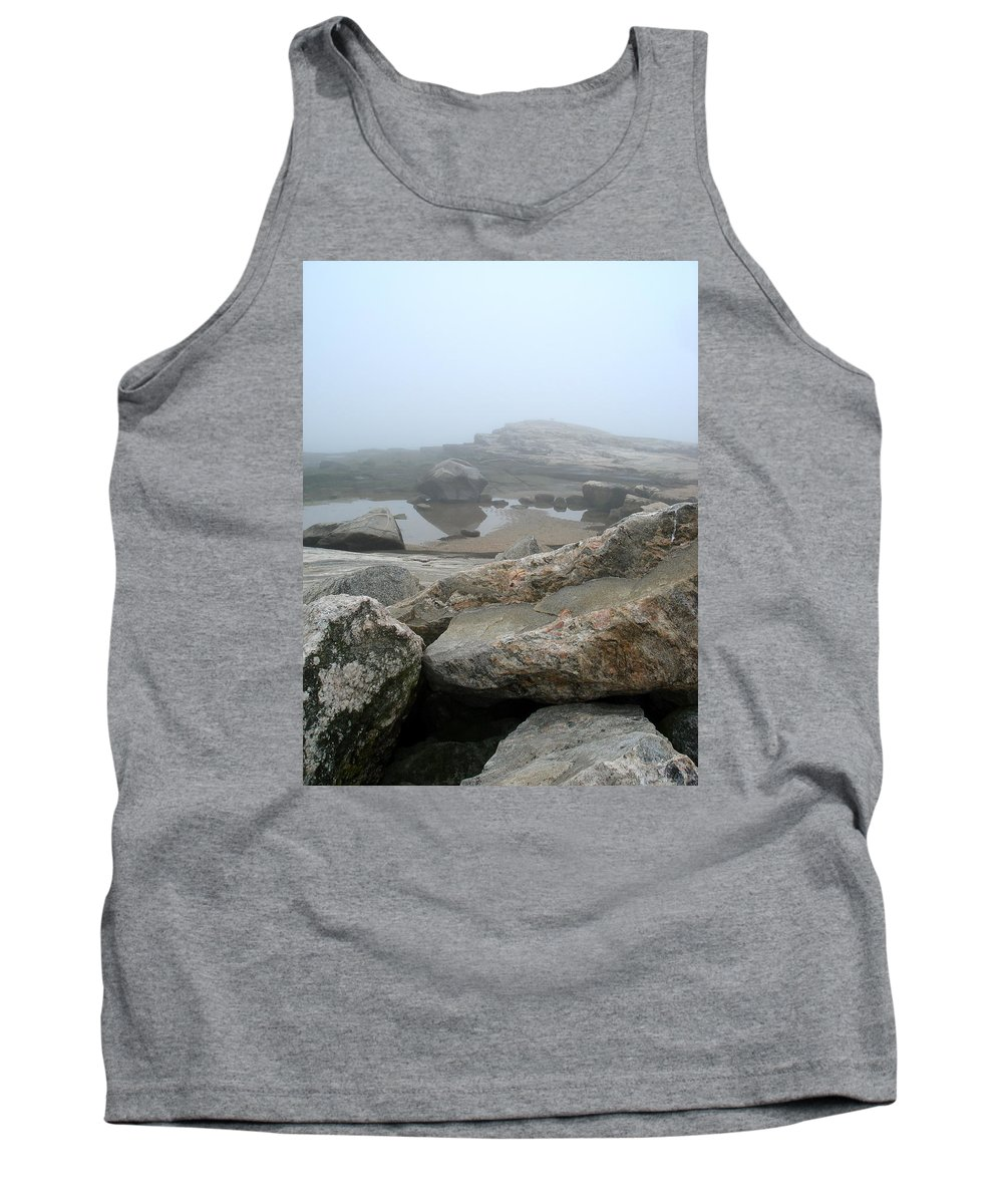 Landscape Tank Top featuring the photograph No Line On The Horizon by Nelson F Martinez