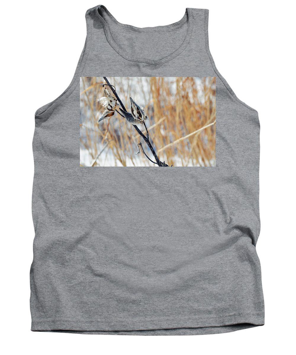 Chicago Tank Top featuring the photograph North Pond Prairie Grass by Kyle Hanson