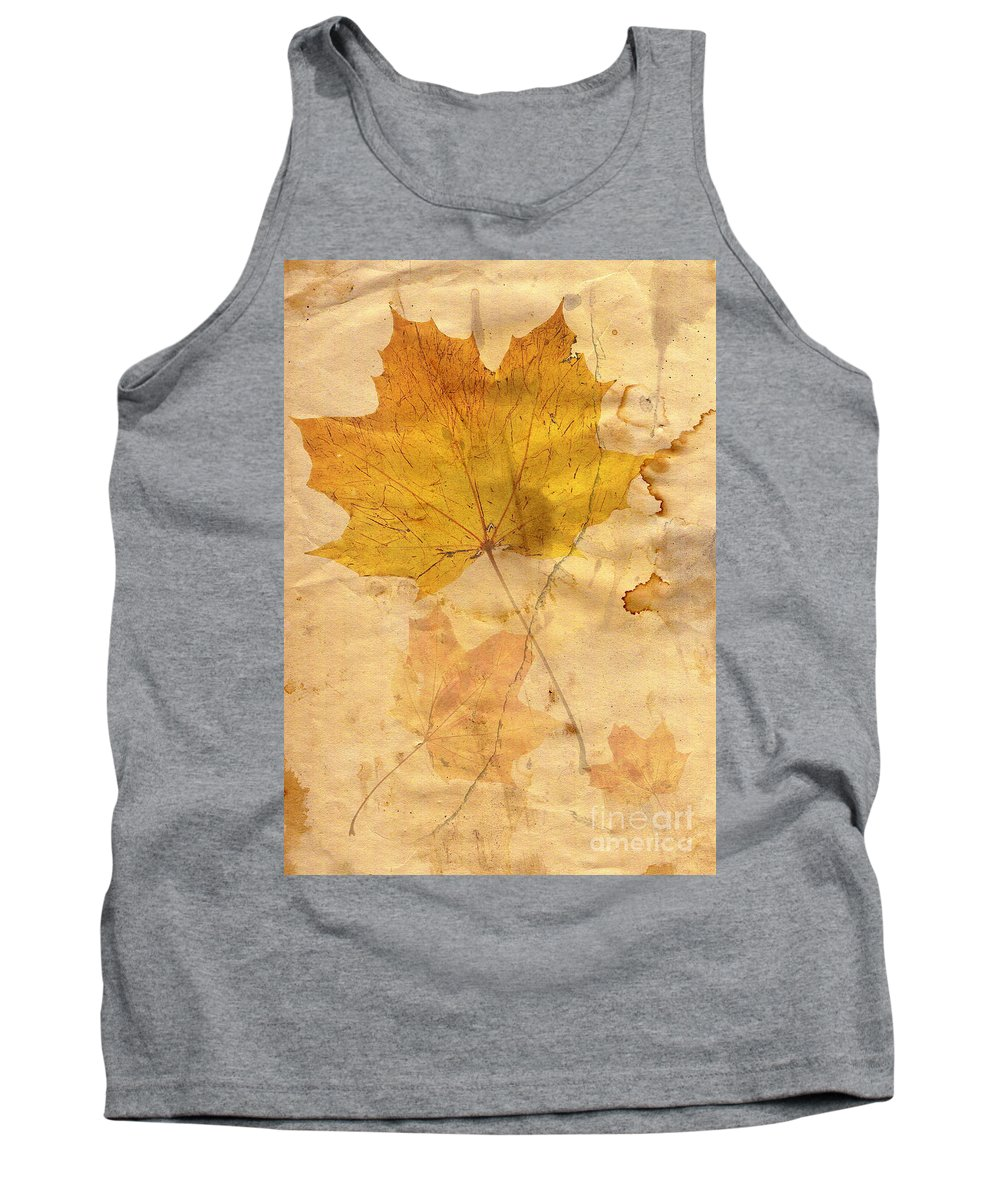 November Tank Top featuring the digital art November by Michal Boubin