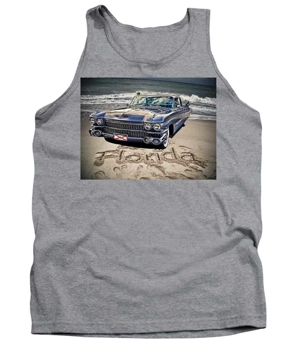 Cadillac Tank Top featuring the photograph Ocean Drive by Joachim G Pinkawa