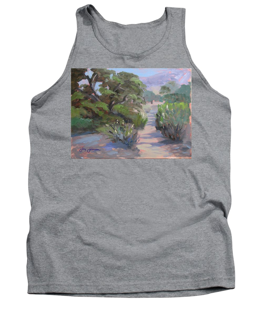 Landscape Tank Top featuring the painting Old Agoura by Jay Johnson