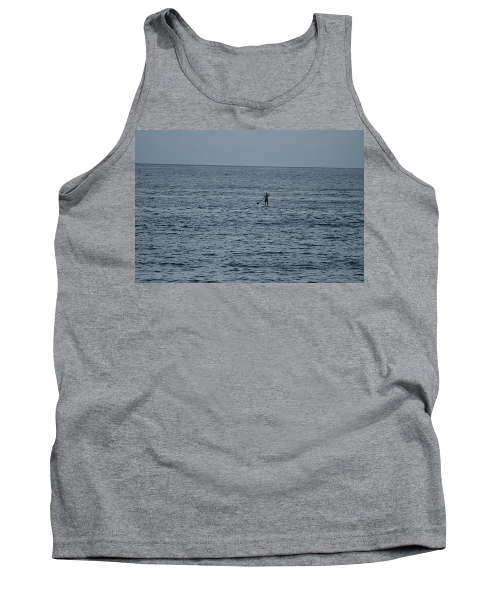 Sea Scape Tank Top featuring the photograph Old Man In The Sea by Rob Hans