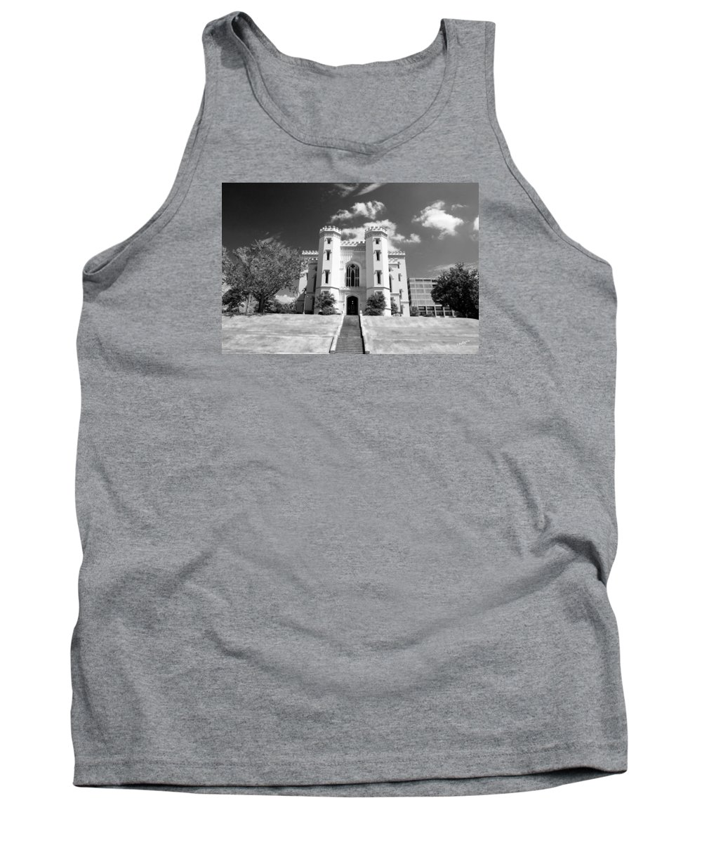 Buildings Tank Top featuring the photograph Old State Capital - Infared by Scott Pellegrin