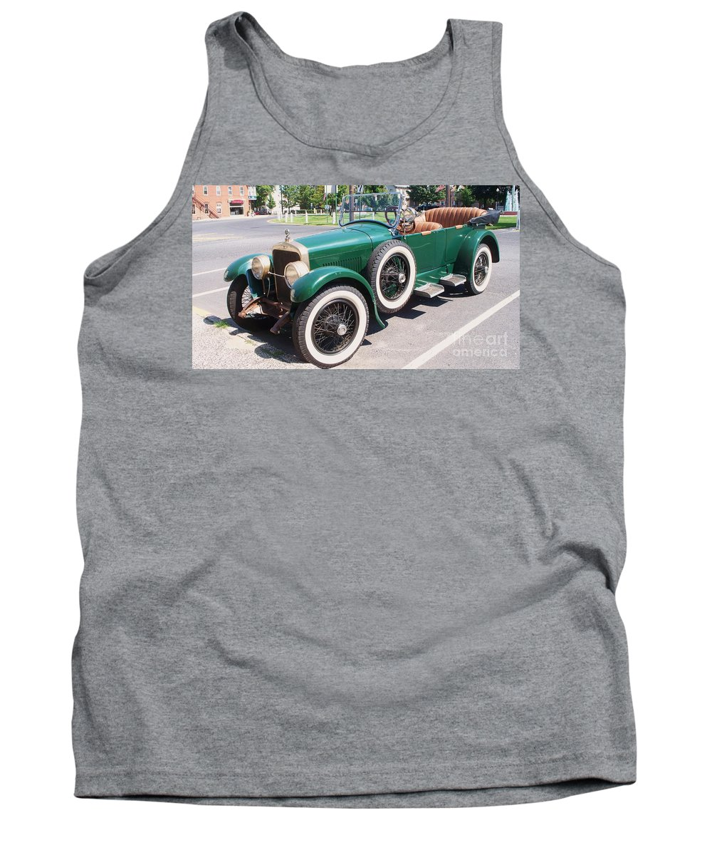 Transportation Tank Top featuring the photograph Old Vintage Car by Eric Schiabor
