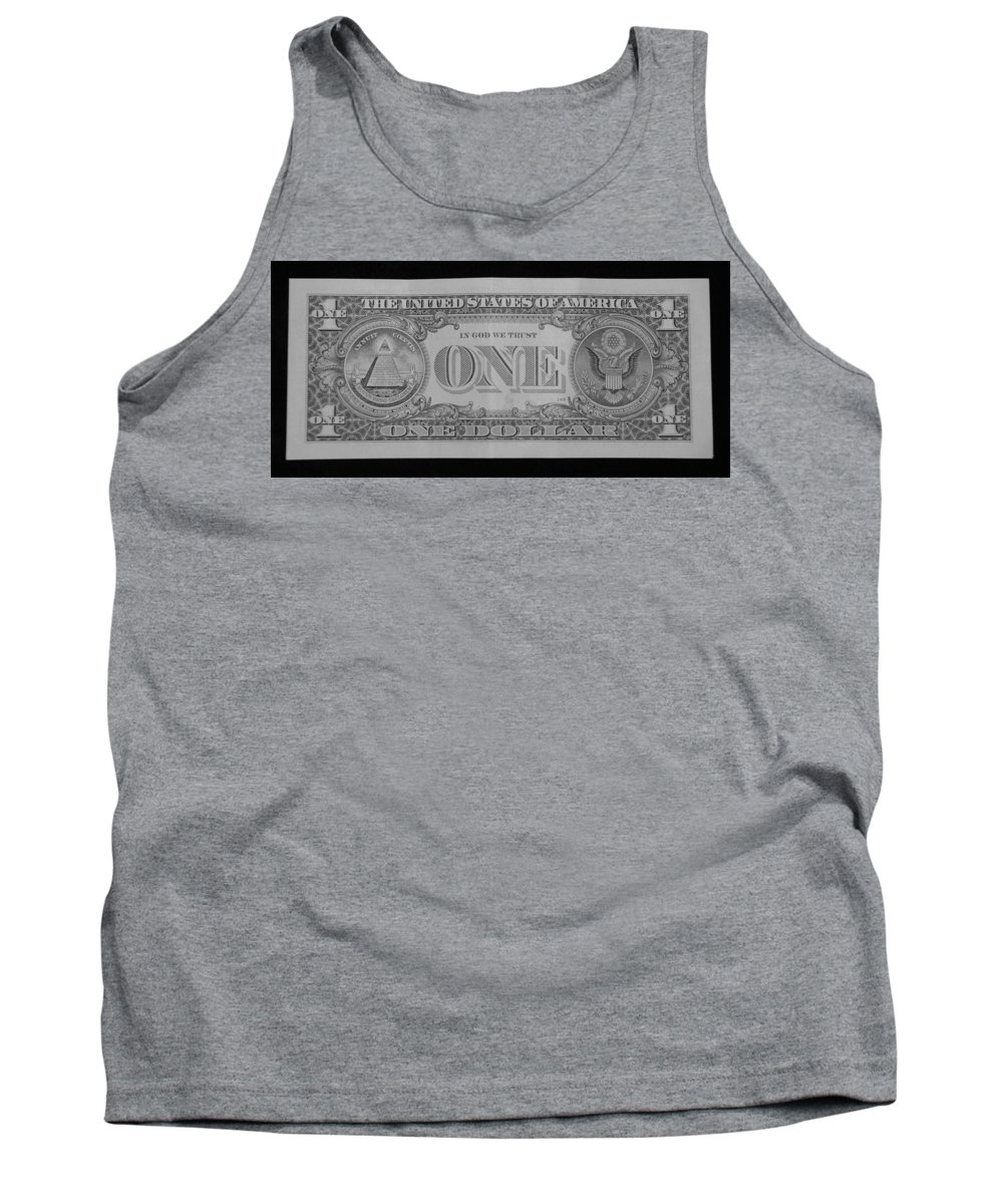 One Tank Top featuring the photograph One Back by Rob Hans