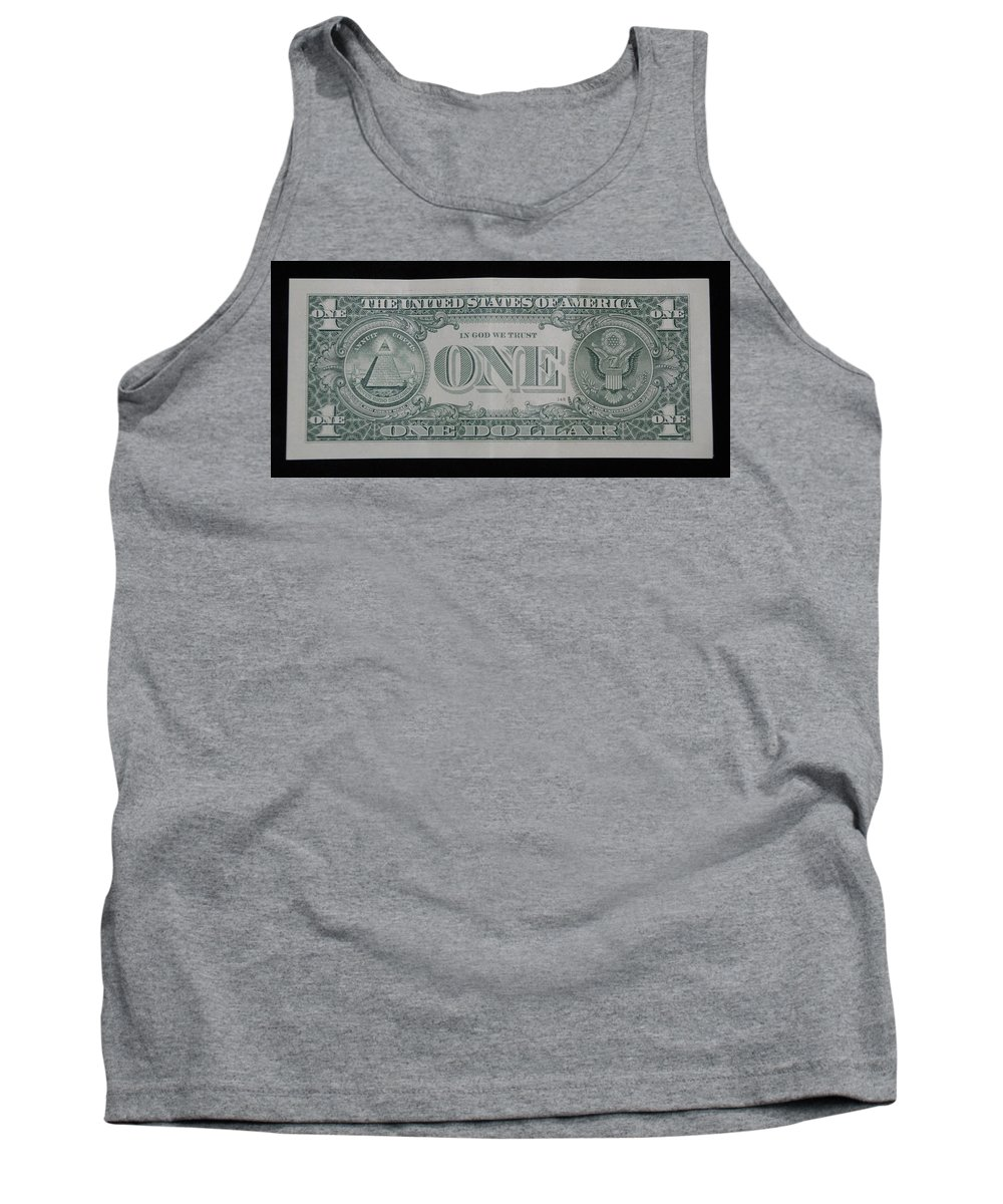 One Tank Top featuring the photograph One Green Back by Rob Hans