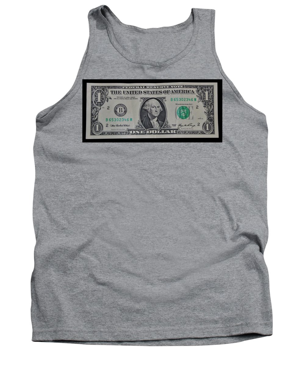 One Tank Top featuring the photograph One Green by Rob Hans