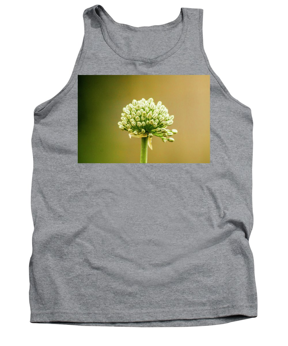 Garden Tank Top featuring the photograph Onion by Shauna Ruthenbeck