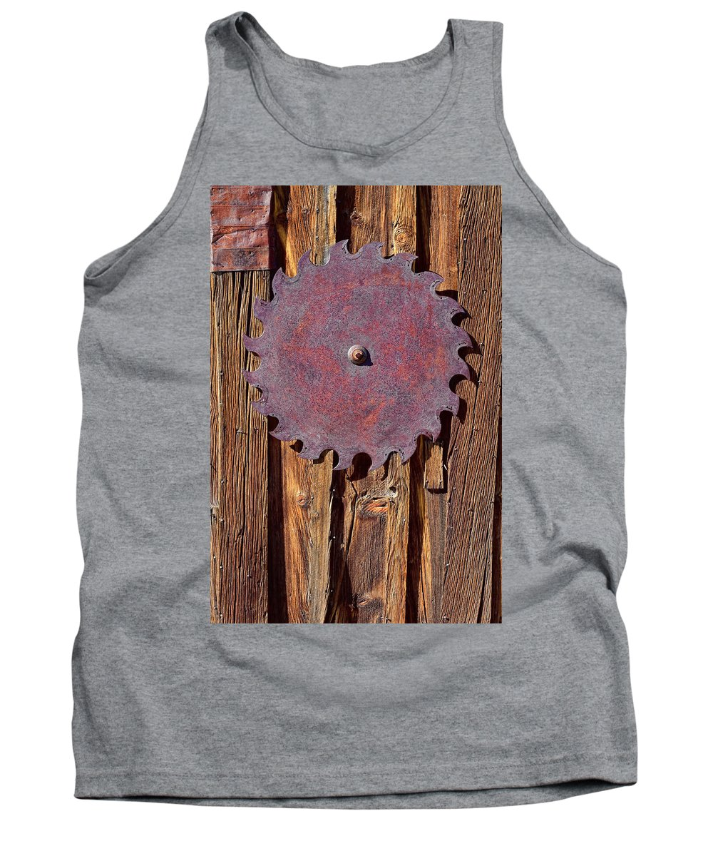 Saw Blade Tank Top featuring the photograph Ornamental by Kelley King
