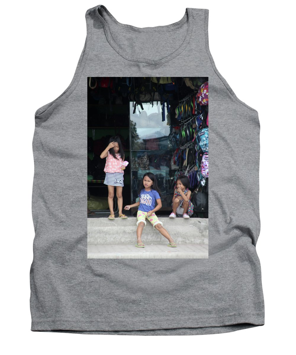 Mati Tank Top featuring the photograph Our Mind Don't Know Yet by Jez C Self