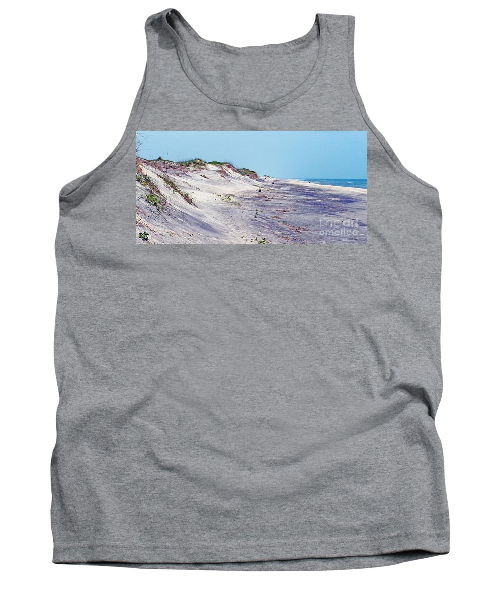 Beach Tank Top featuring the photograph Outer Banks 2 by Lydia Holly
