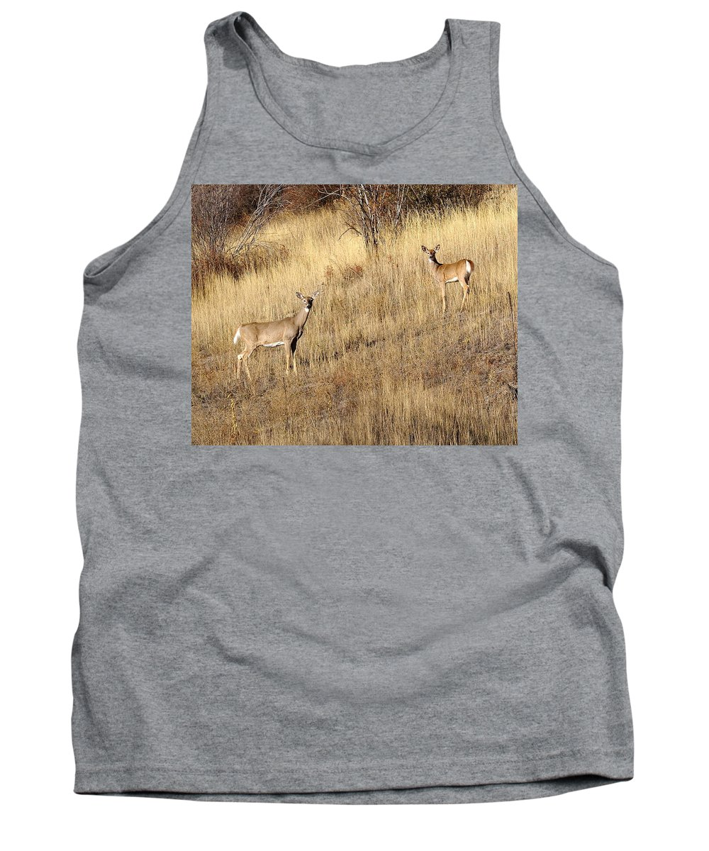 Spokane Tank Top featuring the photograph Outstanding In Their Field by Ben Upham III
