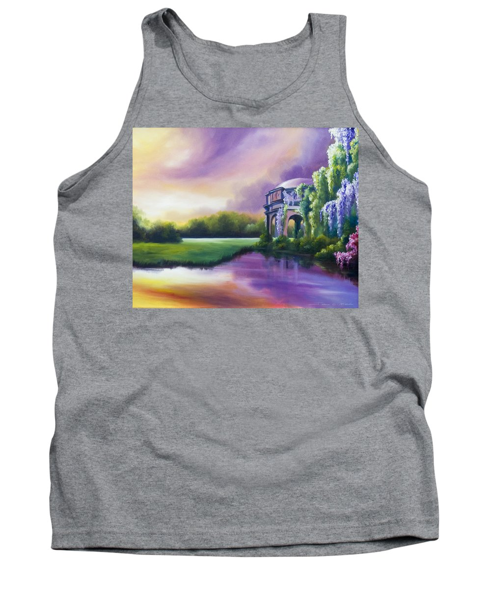 Marsh Tank Top featuring the painting Palace Of The Arts by James Christopher Hill