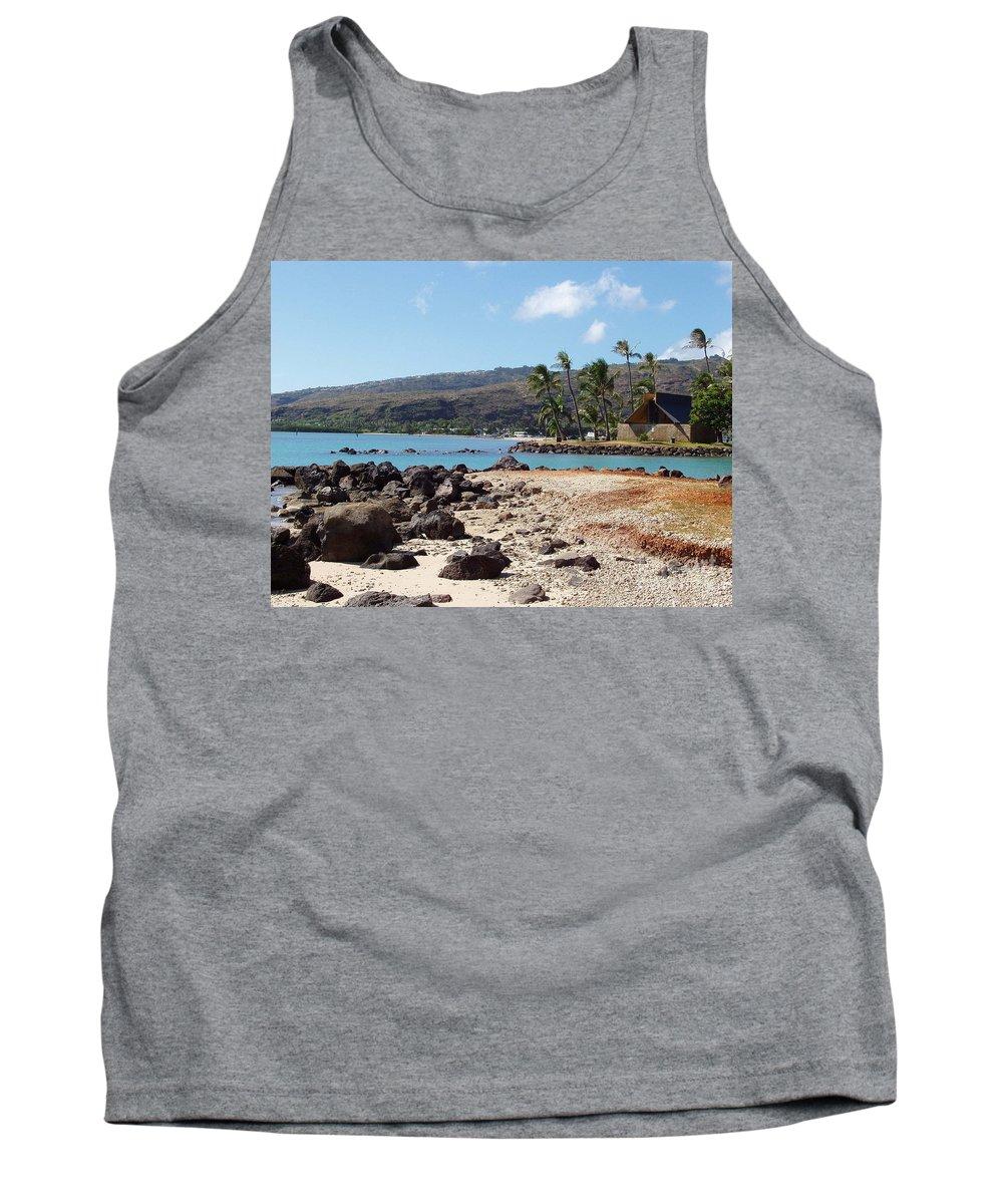 Hawaii Tank Top featuring the photograph Panorama by Deborah Crew-Johnson