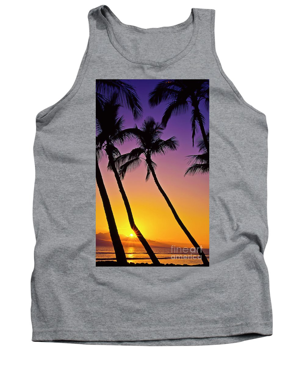 Sunset Tank Top featuring the photograph Paradise by Jim Cazel