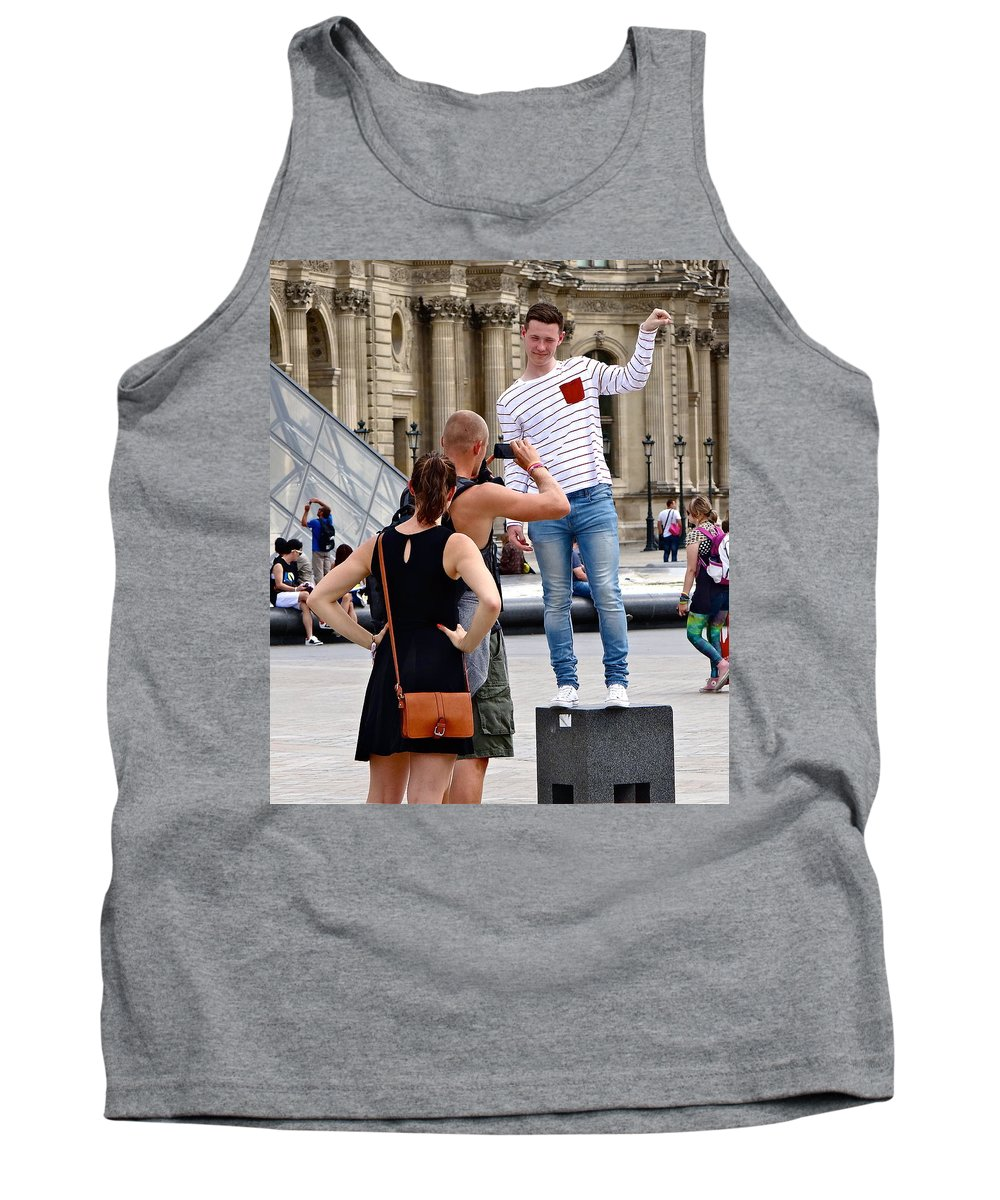 Paris Tank Top featuring the photograph Paris Pix by Ira Shander
