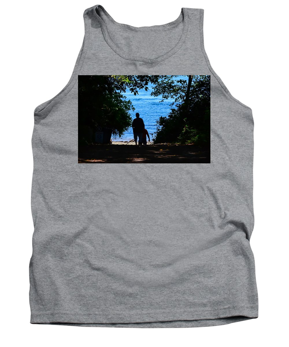 Pathway Tank Top featuring the photograph Path To Paradise by Frank Morris