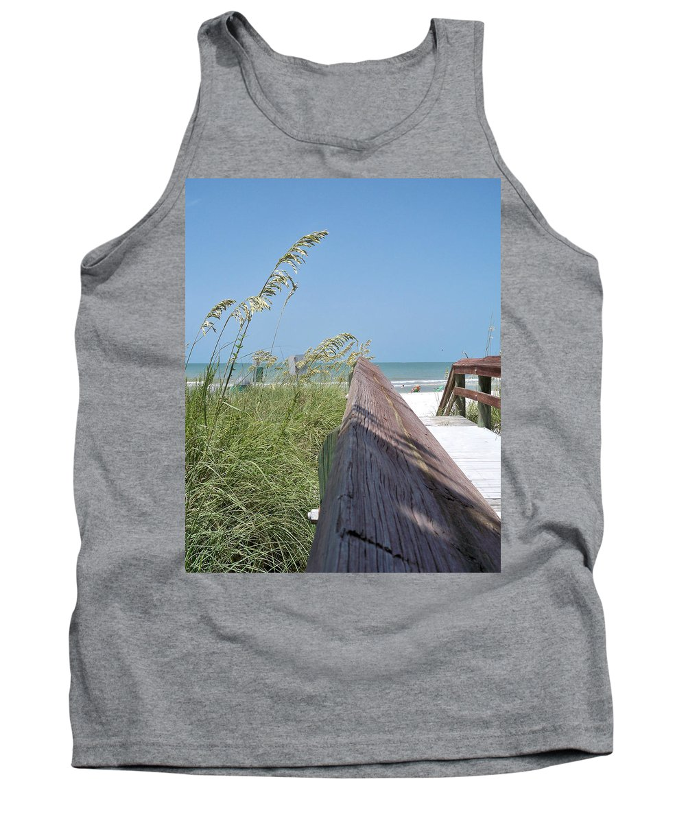 Florida Tank Top featuring the photograph Path To Relaxation by Chris Andruskiewicz