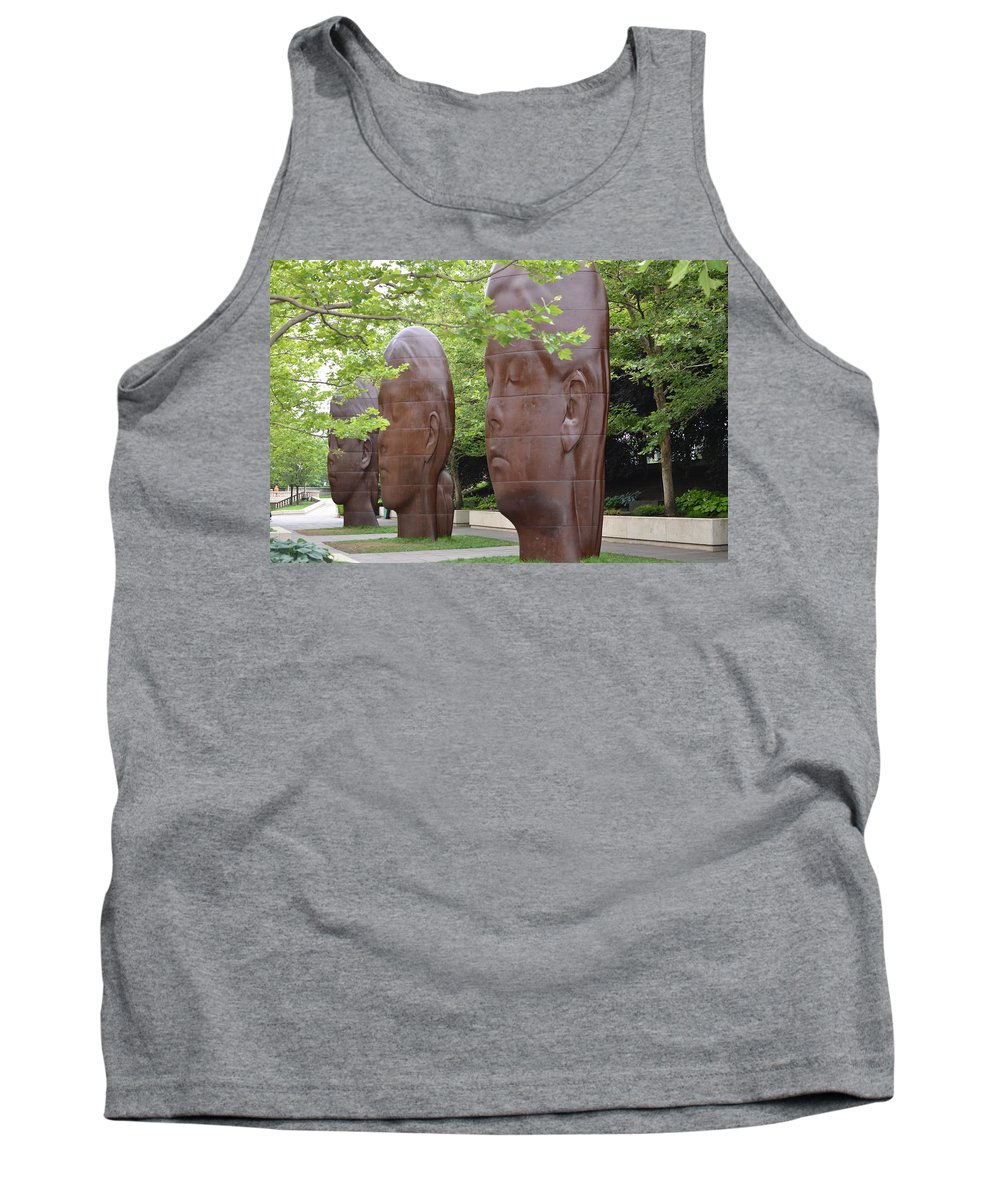 Paula Tank Top featuring the photograph Paula Laura And Inez by Tammy Mutka