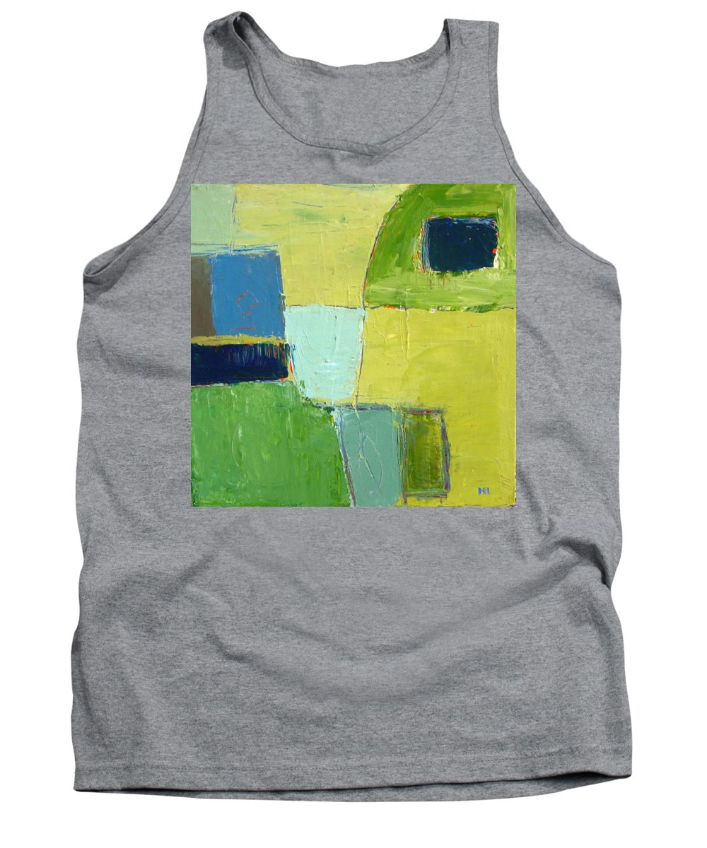 Abstract Tank Top featuring the painting Peace 1 by Habib Ayat