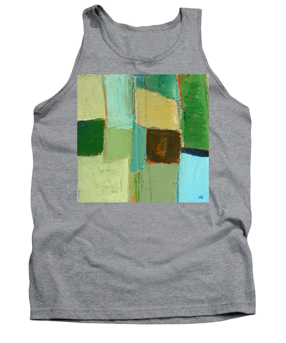 Tank Top featuring the painting Peace 2 by Habib Ayat